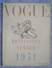 Vogue Magazine - 1951 - February